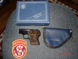 """S&W Mod. 61-3 Escort Semi-Auto pocket Pistol MFG 1971 NIB .22Lr.Cal. Blue 21/8""""BBl. Box Papers & Zipper Pouch"""