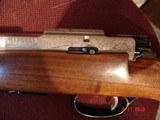 RARE Anschutz Mod. 1533 Factory Engraved Mannlicher Carbine, .222 Remington Caliber , 54 Action Excellent MFG 1975 - 7 of 15