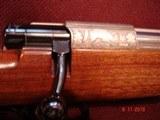 RARE Anschutz Mod. 1533 Factory Engraved Mannlicher Carbine, .222 Remington Caliber , 54 Action Excellent MFG 1975 - 8 of 15