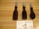For sale I have Some Real Nice Turn Screws for Shot guns Look to be Hand made English type - 1 of 9