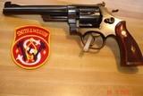"S&W .38/44 Outdoorsman L-frame D/A revolver Model of 19505-Screw Rare 6 1/2""BBl. 1 of 6039 MFG. Excellent all Original MFG 1953"