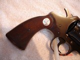 "Colt Police Positive Special 4""BBl. Mint MFG 1955 .32 Colt NP Cal. Blue Checkered Walnut Stocks - 12 of 18"