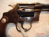 "Colt Police Positive Special 4""BBl. Mint MFG 1955 .32 Colt NP Cal. Blue Checkered Walnut Stocks - 13 of 18"