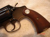 "Colt Police Positive Special 4""BBl. Mint MFG 1955 .32 Colt NP Cal. Blue Checkered Walnut Stocks - 16 of 18"