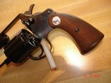 "Colt Police Positive Special 4""BBl. Mint MFG 1955 .32 Colt NP Cal. Blue Checkered Walnut Stocks - 5 of 18"