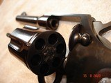 "Colt Police Positive Special 4""BBl. Mint MFG 1955 .32 Colt NP Cal. Blue Checkered Walnut Stocks - 8 of 18"