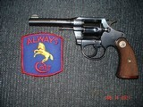 "Colt Police Positive .32 Smith & Wesson Cal. 4"" BBl. MFG 1929