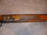 """Browning Superposed GD 1 Upgrade 1965 12Ga. 28"""" Game Scene Engraved with Gold Inlays by Bill Mains ExcellentRound Butt long tang - 11 of 20"""