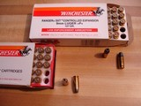 Vintage Winchester 9 m/m Luger Ammo 2- 50Rnd. Boxes 115Gr. and 127 Gr. Mint in Boxes +P+ Collectable Ammo