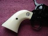 "Colt SAA Rare .38/40WCF Mod.P-3870Z Spec.Order Full Royal Blue 7 1/2"" BBl. Beveled Cyl. Real Ivory Stocks NIB 1995 Custom Shop - 15 of 19"