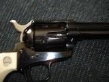 "Colt SAA Rare .38/40WCF Mod.P-3870Z Spec.Order Full Royal Blue 7 1/2"" BBl. Beveled Cyl. Real Ivory Stocks NIB 1995 Custom Shop - 8 of 19"