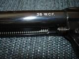 "Colt SAA Rare .38/40WCF Mod.P-3870Z Spec.Order Full Royal Blue 7 1/2"" BBl. Beveled Cyl. Real Ivory Stocks NIB 1995 Custom Shop - 4 of 19"