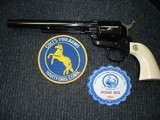 "Colt SAA Rare .38/40WCF Mod.P-3870Z Spec.Order Full Royal Blue 7 1/2"" BBl. Beveled Cyl. Real Ivory Stocks NIB 1995 Custom Shop - 19 of 19"