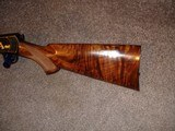 Win. Model 631937 Restored to Mint Fancy Walnut, Engraved with Gold inlays Stunning! Semi-Auto .22LR. - 3 of 16