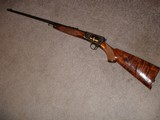 Win. Model 631937 Restored to Mint Fancy Walnut, Engraved with Gold inlays Stunning! Semi-Auto .22LR. - 16 of 16