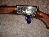 Win. Model 631937 Restored to Mint Fancy Walnut, Engraved with Gold inlays Stunning! Semi-Auto .22LR. - 5 of 16