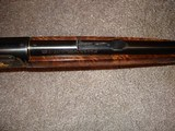 Win. Model 631937 Restored to Mint Fancy Walnut, Engraved with Gold inlays Stunning! Semi-Auto .22LR. - 12 of 16