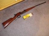 "Savage Mod. 1899-B Utica N.Y. Take Down rifle .300 Savage Lever Act.24""BBl. Lyman Tang Sight Very Nice original condition"