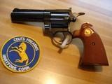 """Colt Diamondback .22 LR. Mint 4"""" BBl. Blue MFG 1970 Checkered Walnut Target Stocks"""