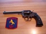 "Colt Police Positive MFG 1923 Near Mint .32 Police Ctg.6""BBl. Blue Hard rubber stocks"