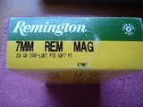 Remington7MM Rem Mag. 125Gr. Soft Point