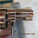 SMITH & WESSON Model 37 NICKLE