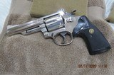 SMITH & WESSON MODEL 19-4 NICKLE