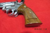 """SMITH & WESSON MODEL 66 NO DASH 4"""" STAINLESS STEEL 357 MAHNUM - 4 of 15"""