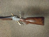 Winchester 1885 Low Wall Custom rifle in .25-20, with double set triggers