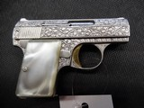 BROWNING BABY RENAISSANCE .25 ACP WITH ORIGINAL CASE AND OWNERS MANUAL