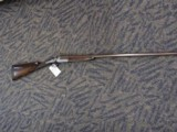 COGSWELL and HARRISON 28GA SINGLE SHOT HAMMER GUN DAMASCUS BARREL, EXCELLENT CONDITION