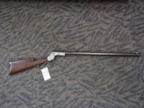 J. STEVENS TIP UP IN .22 LR IN GOOD CONDITION, (RELINED BORE)