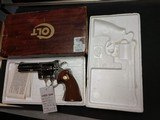 "COLT PYTHON .357 NICKEL 4"" BARREL VERY GOOD CONDITION WITH BOX - 6 of 16"