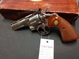 "COLT PYTHON .357 NICKEL 4"" BARREL VERY GOOD CONDITION WITH BOX - 13 of 16"