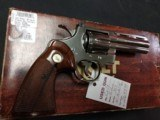 "COLT PYTHON .357 NICKEL 4"" BARREL VERY GOOD CONDITION WITH BOX - 3 of 16"