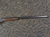 CUSTOM WINCHESTER 1885 HIGH WALL BY STEVEN DURREN GUN MAKER .40-70 STRAIGHT - 4 of 20