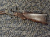 CUSTOM WINCHESTER 1885 HIGH WALL BY STEVEN DURREN GUN MAKER .40-70 STRAIGHT - 8 of 20