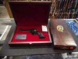"""COLT NEW FRONTIER """"THE DUKE"""" COMMEMORATIVE, EXCELLENT CONDITION, WITH CASE AND BOX"""