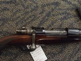 JP SAUER PRE WWIISPORTING RIFLE .30-06 WITH OCTAGON TO OVATE BARREL WITH FULL LENGTH RIB, MAUSER OBERNRNDORF ACTION