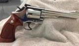 "Smith & Wesson Model 19-3357 Magnum 6"" Nickel"
