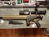SIG SAUER MPX-C-9-KM-T-FDE Carbine - Folding stock