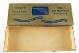 "Smith & Wesson Pre Model 27 .357 MAGNUM Model of 1950 8 3/8"" Blue Gold Box RARE - 2 of 5"