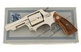 """Smith & Wesson Model 36-1 Rare 3"""" Heavy Barrel Nickel Original Box 99% No Upgrade!"""