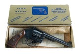 Smith & Wesson Pre Model 16 K-32 Masterpiece Bright Blue Five Screw Original Box & Grips MINT NO UPGRADE 99% - 2 of 10