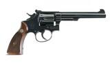 Smith & Wesson Pre Model 16 K-32 Masterpiece Bright Blue Five Screw Original Box & Grips MINT NO UPGRADE 99% - 6 of 10
