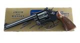 Smith & Wesson Pre Model 16 K-32 Masterpiece Bright Blue Five Screw Original Box & Grips MINT NO UPGRADE 99%