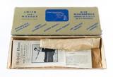 Smith & Wesson Pre Model 16 K-32 Masterpiece Bright Blue Five Screw Original Box & Grips MINT NO UPGRADE 99% - 3 of 10