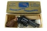 "Smith & Wesson ULTRA RARE 4"" Pre Model 27 Factory Letter Shipped April 22, 1957 ANIB - 4 of 18"