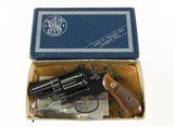 """Smith & Wesson Model 19-2 .357 Combat Magnum 2 1/2"""" Mfd. 1966 1st Year Production Complete in Original Box 99% - 2 of 15"""