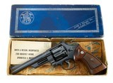 """RARE Smith & Wesson Model 27-1 6"""" .357 Magnum Full Target TH TT TS w/ Box Built 1960 99% - 1 of 15"""